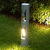 Elstead Lutec Cylin 6 UT/CYLIN6-730 LED Twin Head Outdoor Post